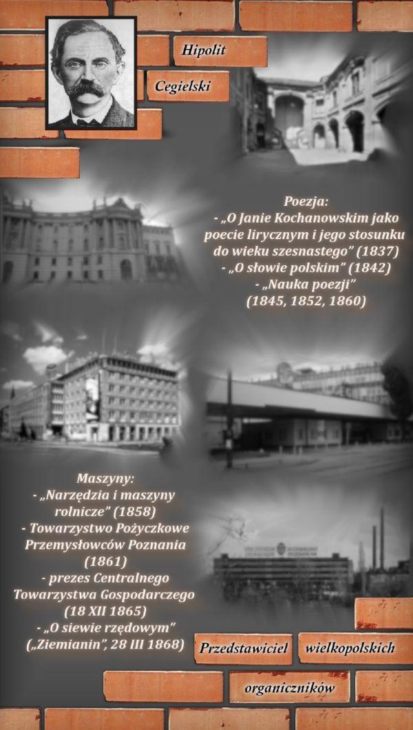 Plakat Konkurs o Hipolicie Cegielskim