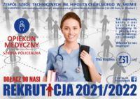 ulotka szkoła policealna opiekun medyczny