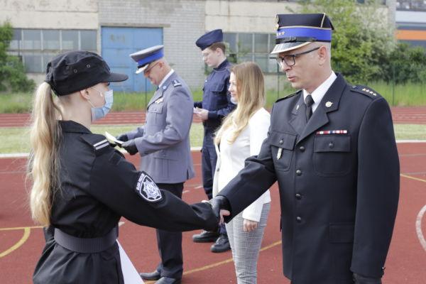 Uroczystość nadania aktów mianowania klasy policyjne strażacko ratownicze