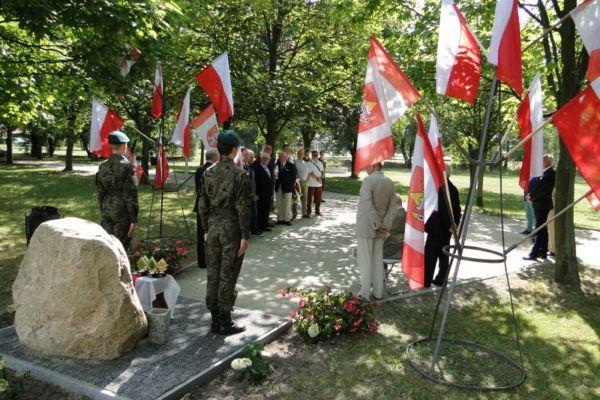 Święto Wojska Polskiego - Korpus Kadetów ZST jak co roku uczestniczył w uroczystościach.