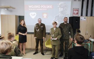 """prelekcja """"Wojsko Polskie w misjach zagranicznych"""""""